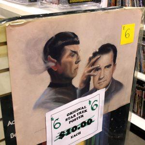 Spock does mind meld on Nixon