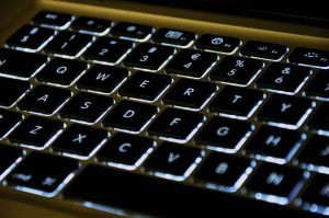 Backlit keyboard on Macbook Pro