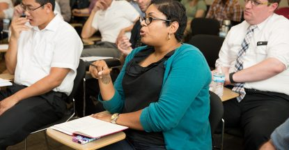 Faculty in Active Learning Initiative workshop