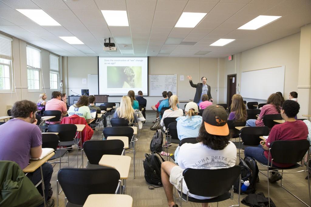 Chris Lynn's anthropology course