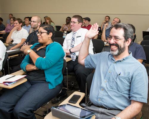 Faculty in an ALI workshop