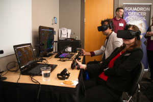 two people using virtual reality headsets