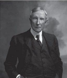 actual image of John D. Rockefeller